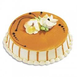 Butterscotch Cake Eggless 1kg