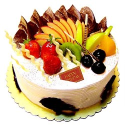 Fresh Fruit Cake 500 Grams