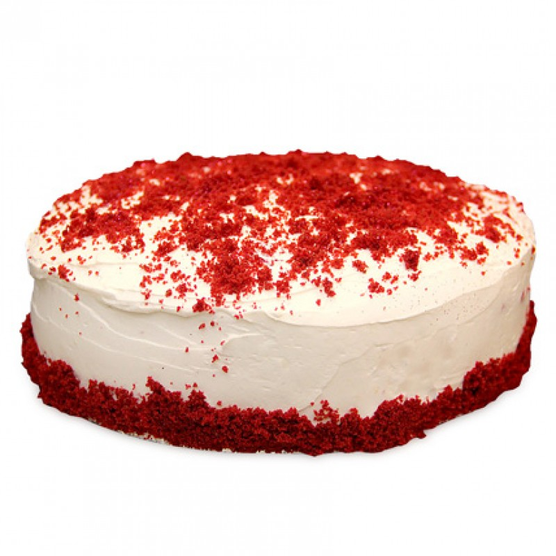 Cake Designs Half Kg : Red Velvet Fresh Cream Cake Half Kg