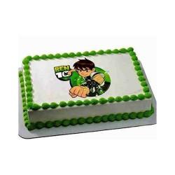 BEN10 Photo Cake