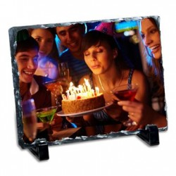 Happy Birthday Personalised Tile Frame