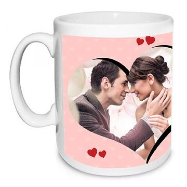 I Love You Personalised White Mug