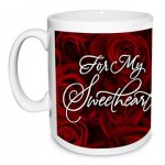 For My Sweetheart Personalised Mug