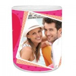 Pretty Hearts Personalised Mug