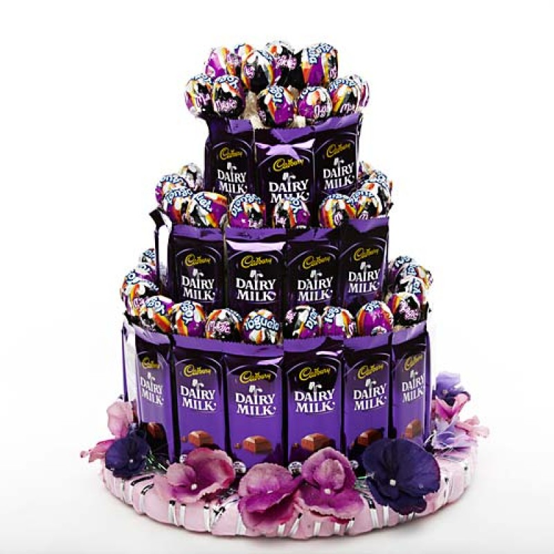 3 Tier Chocopop Cake Florists In India